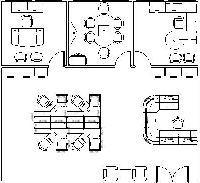 Ordinaire Office Layout. Corporate Interior Solutions ...
